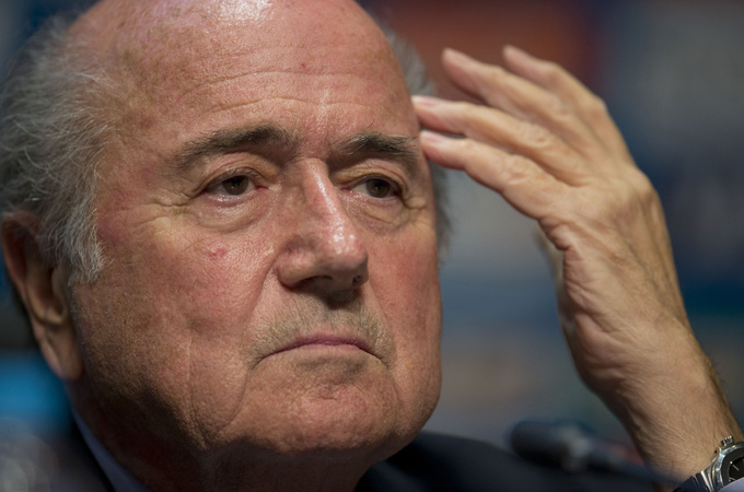 As long as Brazil keeps winning, FIFA and its President, Blatter, will benefit, says sports journalist Luis Aguilar [AP]