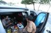 Chile football fans Pablo and Marcelo camp out on Rio de Janeiro's Copacabana Beach [Al Jazeera]