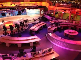 Al Jazeera English newsroom, Doha, Qatar